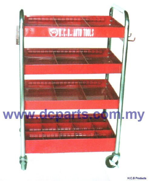 General Truck Repair Tools FOUR-SHELF CART  A2010